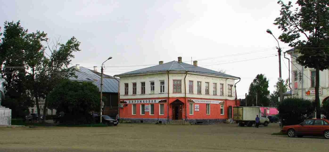 Грузоперевозки Москва - Устюжна