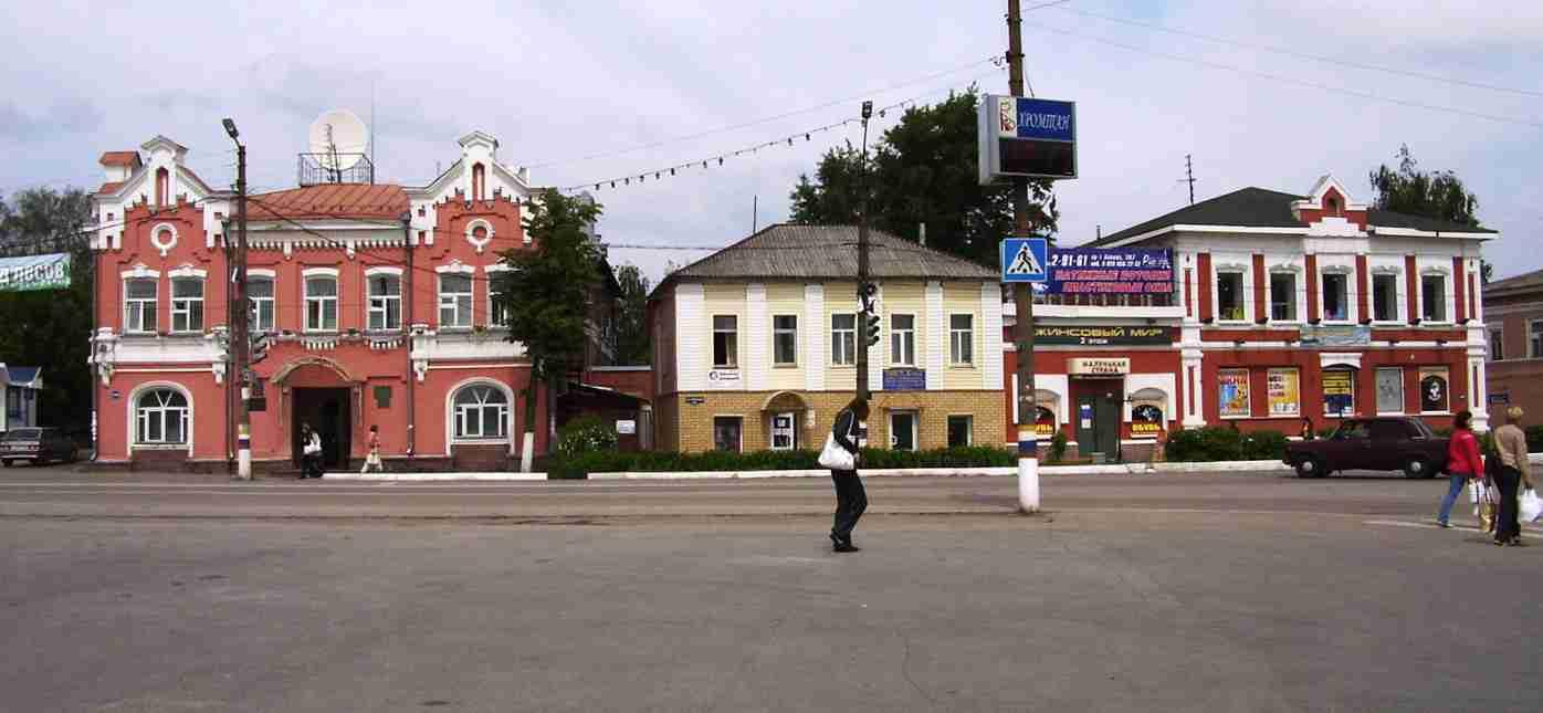 Богородск, нижегородская обл (апрель 2007, сентябрь 2011)
